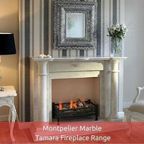 Montpelier Marble Tamara Fireplace