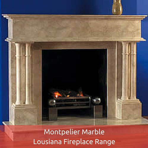 Montpelier Marble Lousiana Fireplace