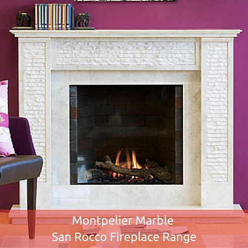 Montpelier Marble San Rocco Fireplace