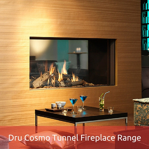 Dru Cosmo Tunnel Fireplace